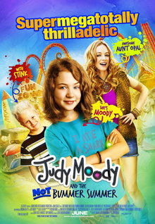 Movie Trailers: Judy Moody and the Not Bummer Summer