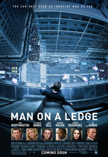 Movie Trailers: Man On a Ledge - Clip - Escape