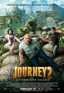 Movie Trailers: Journey 2: The Mysterious Island - Clip - Ladies and Gentlemen, I Give You the Mysterious Island