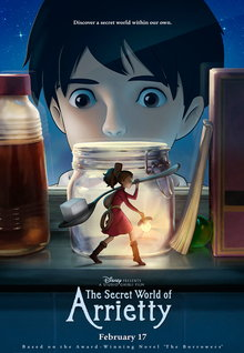Movie Trailers: The Secret World of Arrietty - Clip - Captured
