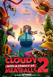 Movie Trailers: Cloudy With a Chance of Meatballs 2