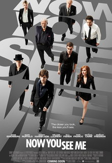 Movie Trailers: Now You See Me - Clip - Henley Intro