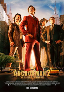Movie Trailers: Anchorman 2 - Trailer 2