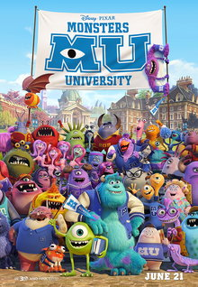 Movie Trailers: Monsters University - Trailer 3