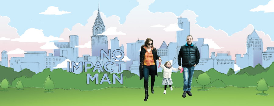 no impact man In no impact man, beavan humorously chronicles his yearlong experiment attempting to reduce his family's environmental footprint to zero while living in manhattan this feat involved, among other demands, no carbon-based transport, no paper, no waste, and eventually no electricity.