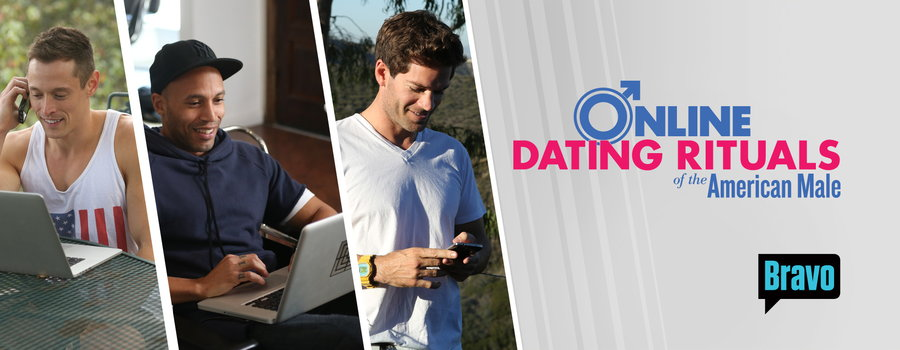 Online dating rituals of the american male fake