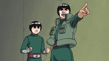 Naruto 22: Chunin Challenge: Rock Lee vs. Sasuke!