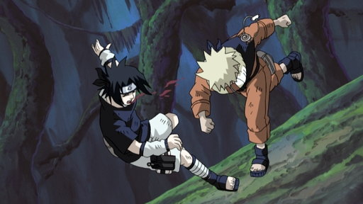 Naruto's Counterattack: Never Give In!