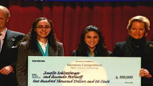 Girls Sweep Science Prize Competition