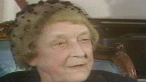 87-Year-Old Suffragist Recalls Early Women's Movement