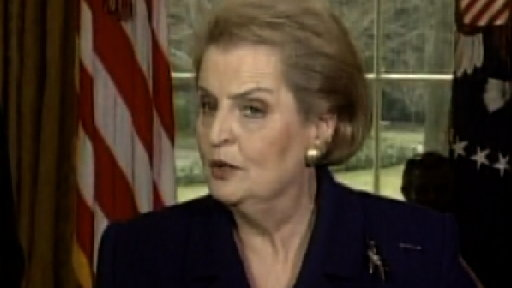 Madeleine Albright Becomes First Female Secretary of State