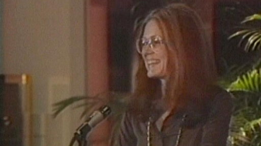 A Busy Day with Gloria Steinem