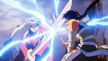 Inuyasha 10: Phantom Showdown–The Thunder Brothers vs. Tetsusaiga