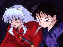 (Sub) Kikyo and Inuyasha, Into the Miasma Image