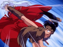 (Sub) Kagome Kidnapped by Koga, the Wolf Demon! image