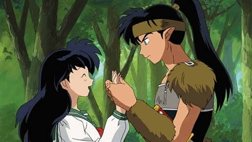 Inuyasha Shows His Tears For The First Time