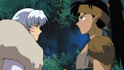 Koga and Sesshomaru: A Dangerous Encounter