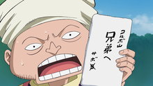 One Piece 503: (Sub) Take Good Care of Him! A Letter from the Brother!