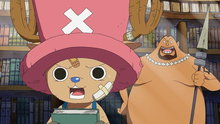 One Piece 513: (Sub) Pirates Get On the Move! Astounding New World!