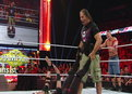 WWE Monday Night Raw: John Cena & WWE Hall of Famer Bret Hart vs. WWE Champion Alberto Del Rio & Ricardo Rodriguez