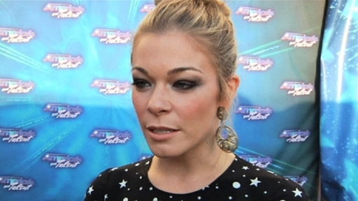Finale Red Carpet: LeAnn Rimes