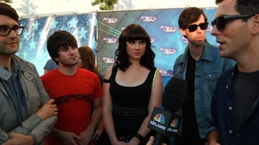 Finale Red Carpet: Cobra Starship