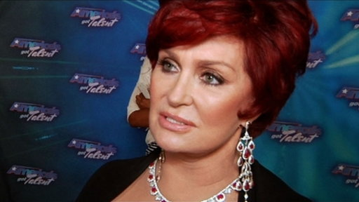 Finale Red Carpet: Sharon Osbourne
