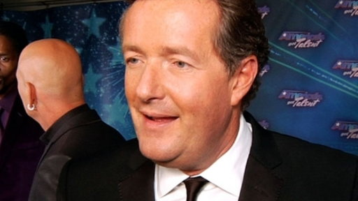 Finale Red Carpet: Piers Morgan