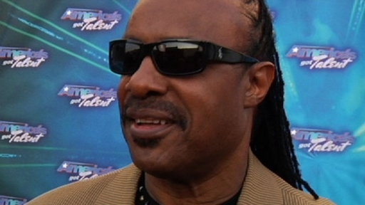Finale Red Carpet: Stevie Wonder
