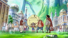 One Piece 518: (Sub) An Explosive Situation! Luffy vs. Fake Luffy!
