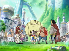 (Sub) An Explosive Situation! Luffy vs. Fake Luffy! Image