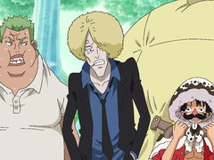 (Sub) Big Guns Assembled! the Danger of the Fake Straw Hats! image