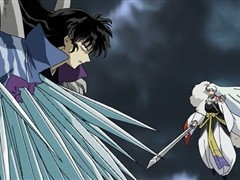 (Sub) Final Battle at the Graveside: Sesshomaru Vs. Inuyasha image