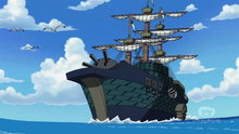 One Piece 418: (Sub) The Friends' Whereabouts: The Science of Weather and the Mechanical Island