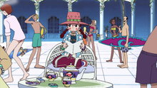 One Piece 70: An Ancient Island! the Shadow Hiding in Little Garden!