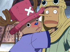 (Sub) Luffy Vs. Vivi! the Tearful Vow to Put Friends On the Line! image