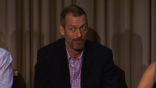 Hugh Laurie's Input On the Show