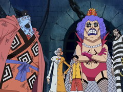 (Sub) The Ultimate Team Has Formed! Shaking Impel Down! image