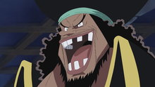 One Piece 445: (Sub) The Dangerous Encounter! Blackbeard and Shiryu of the Rain!