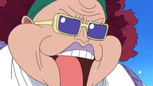 One Piece 113: (Dub) Alubarna Grieves! the Fierce Captain Karoo!