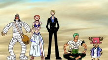 One Piece 125: (Sub) Magnificent Wings! My Name Is Pell, Guardian Deity of the Country!