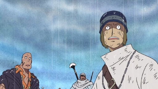 I Will Surpass You! Rain Falls in Alabasta!