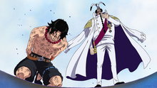 One Piece 459: (Sub) Ticking Down to the Time of Battle! the Navy's Strongest Lineup in Position!