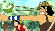 One Piece 136: (Sub) Zenny of the Island of Goats and the Pirate Ship in the Mountains!
