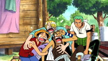 One Piece 137: (Dub) How's Tricks? the Designs of Zenny the Moneylender!
