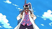 One Piece 139: (Dub) Legend of the Rainbow Mist! Old Man Henzo of Luluka Island!