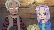 One Piece 140: (Dub) Residents of the Land of Eternity! the Pumpkin Pirates!