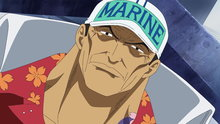 One Piece 463: (Sub) An All-Encompassing Inferno!! Admiral Akainu's Power!