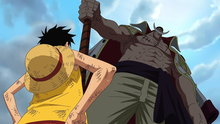 One Piece 466: (Sub) Straw Hat Team Arrives! Tension Grows at the Batlefield