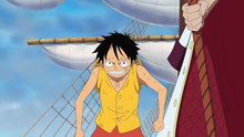 One Piece 467: Even if It Means Death! Luffy Vs. The Navy, the Battle Starts!